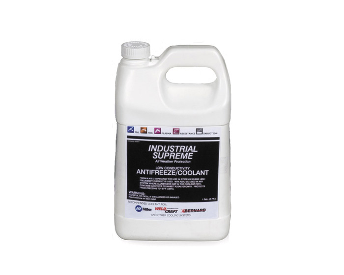 Miller Low Conductivity Coolant for Orbitalum Welding Power Supplies