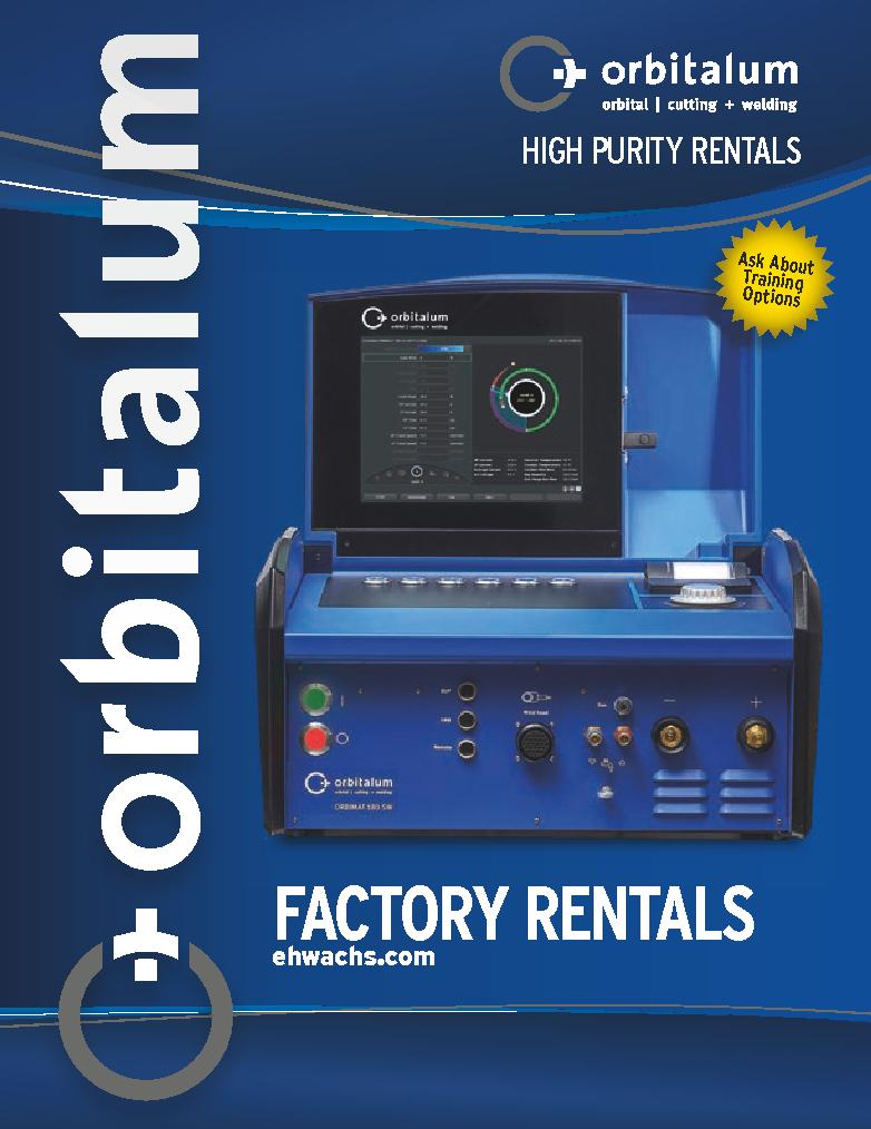 Orbitalum Tools Rental Brochure